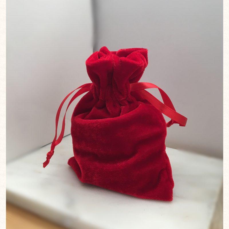 Red Velvet Pouch